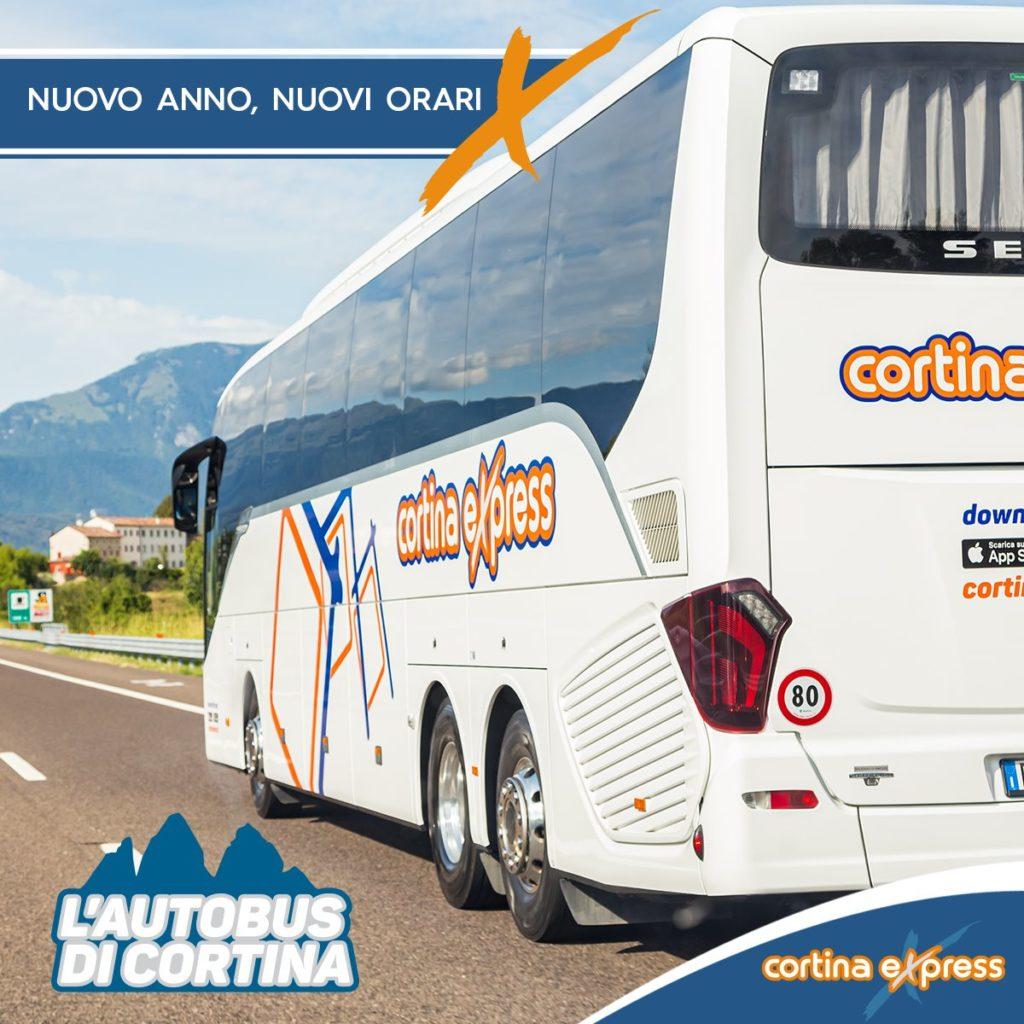 Cortina Express Mestre Cortina.Cortina Express Ecco I Nuovi Orari Per Il 2020 Vaicolbus It